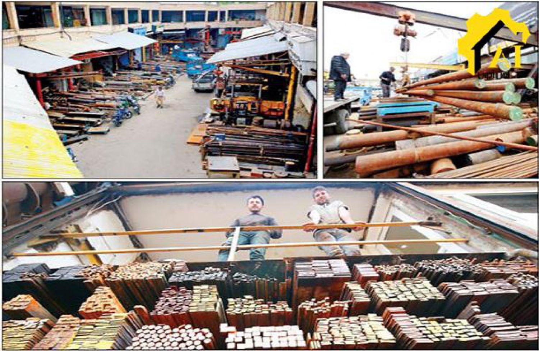 بازار آهن در روزهای پیش از تعطیلات