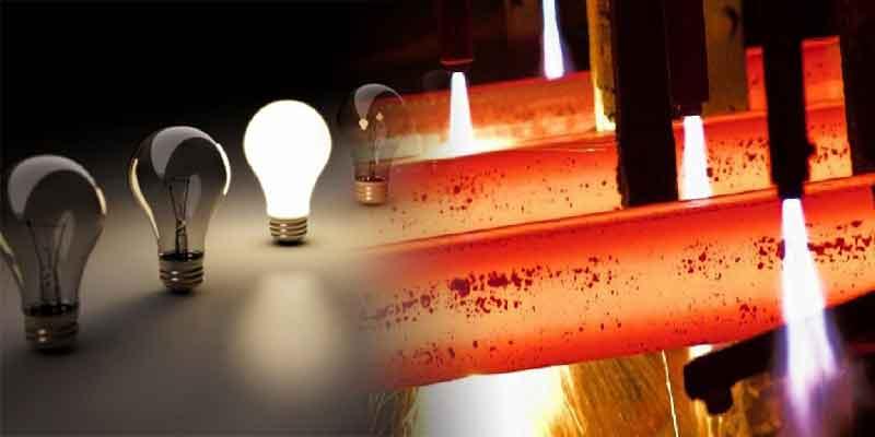 تاثیرات محدودیتها و قطعی برق شرکتهای فولادی