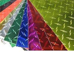 ورق آلومینیوم رنگی